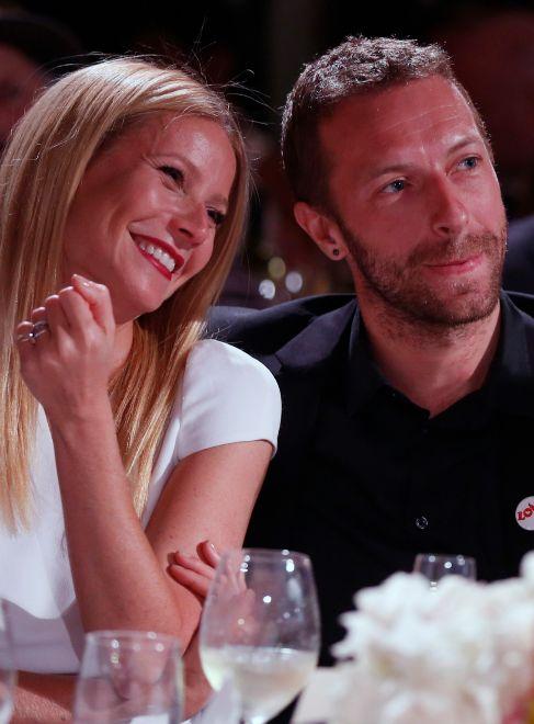 Gwyneth Paltrow y Chris Martin, el pasado enero.