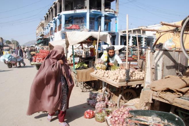 El bazar de Kandahar, la semana pasada.