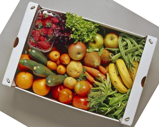 La dieta mediterránea es rica en el consumo de frutas y verduras.