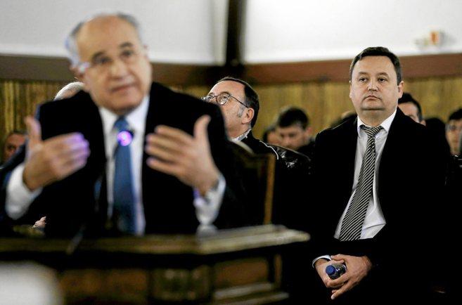 Rafael Blasco durante su intervención en el juicio con Augusto César...