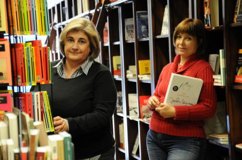 Esperança Camps y Empar Marco, autoras de 'Vertigen' .