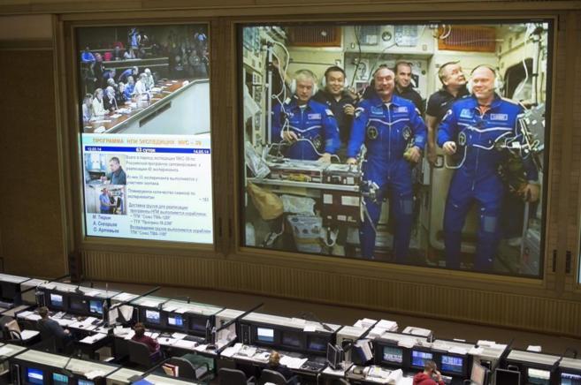 Centro de Control de Misiones ruso que hasta ahora colaboraba con la...