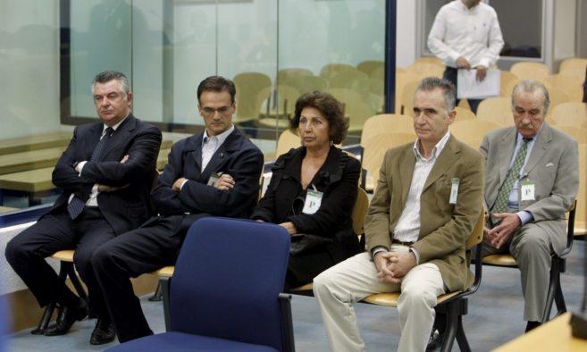 Juan Antonio Roca, en el banquillo de la Audiencia Nacional.