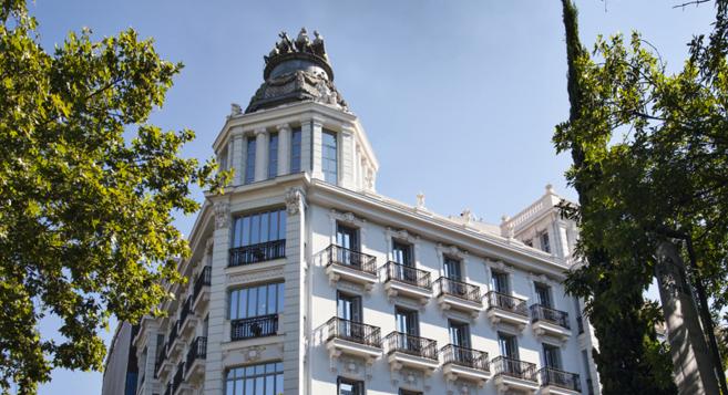 Imagen del edificio Recoletos 4 ubicado en pleno centro de la capital.
