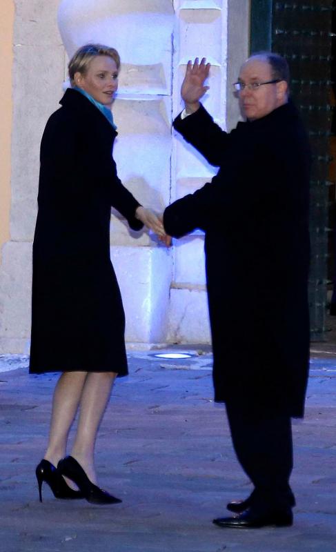 Hacía casi un mes que no se veía a Charlene y a Alberto en pareja......