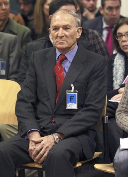 Jesús Muñecas, durante la vista en la Audiencia Nacional