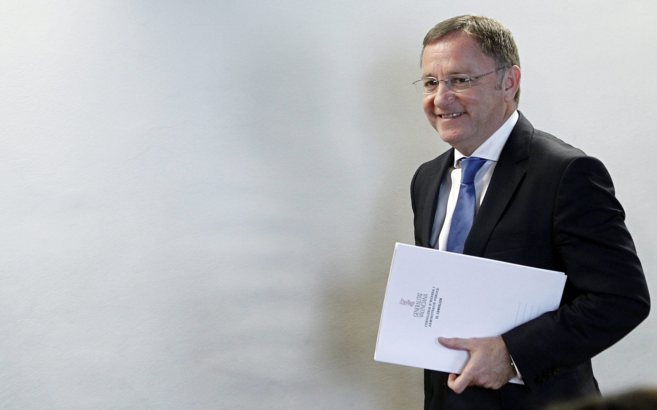 El conseller de Hacienda, Juan Carlos Moragues, en un acto reciente.