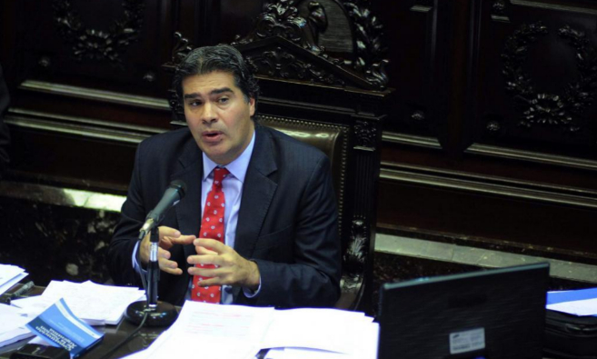 Jorge Capitanich, jefe de Gabinete del Gobierno argentino.