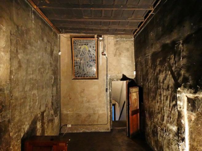 La habitación donde se hospedaba San Francisco en Trastevere,...