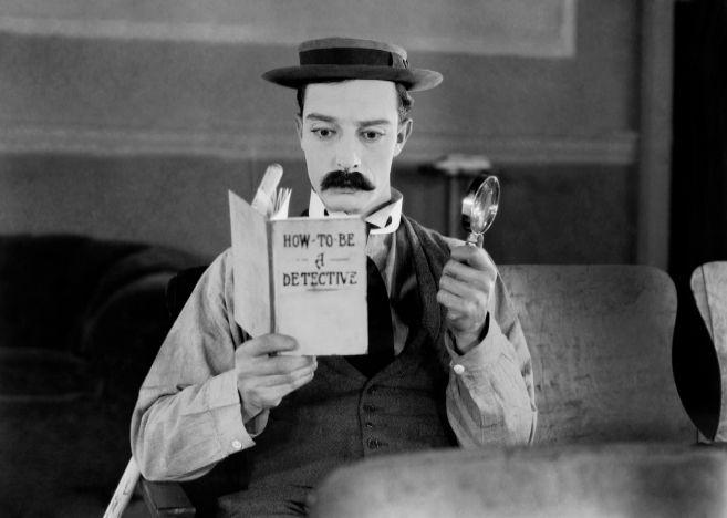 Fotograma de la película 'El moderno Sherlock Holmes'.