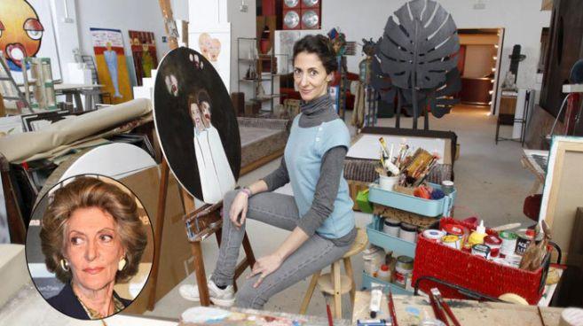 Claudia Stilianopoulus, en su estudio de Madrid.