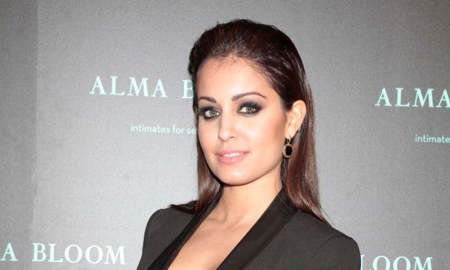 Hiba Abouk amadrinó la nueva tienda de una firma de lencería en...
