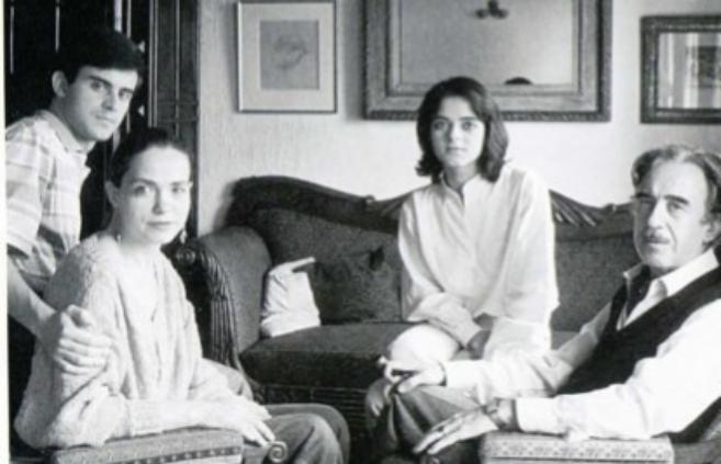 Foto del álbum familiar de los Valls tomada por el fotógrafo Toni...