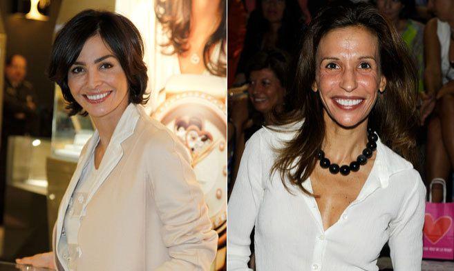 Inés Sastre ( izqda) y su hermana Candelas Sastre no se hablan desde...