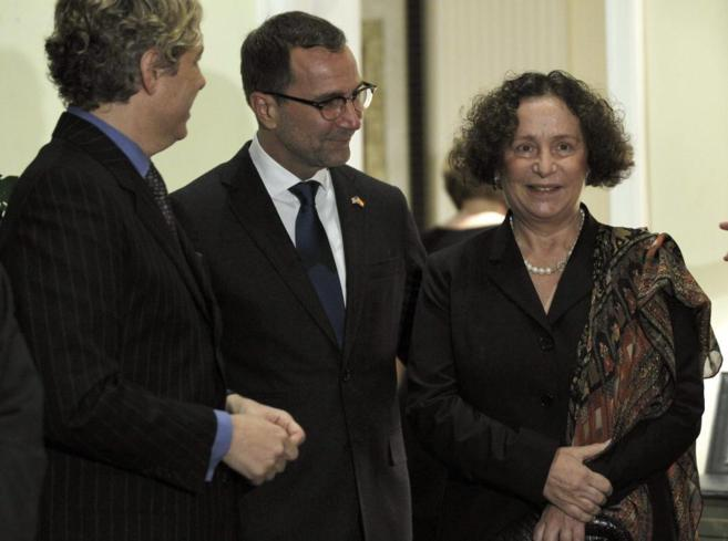 Ana Palacio, el pasado septiembre en la presentación del embajador de...