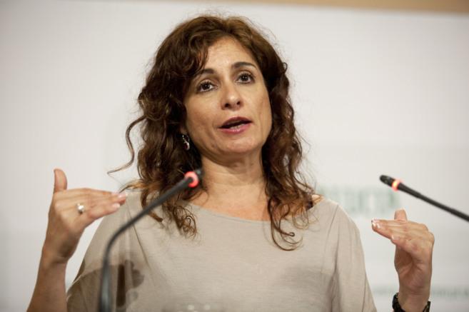 La consejera María Jesús Montero informa sobre la devolución del...