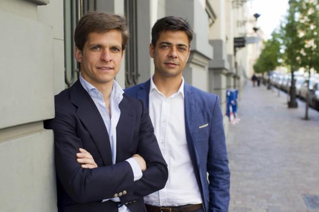 El Juli y su hermano Ignacio, este martes en Madrid.