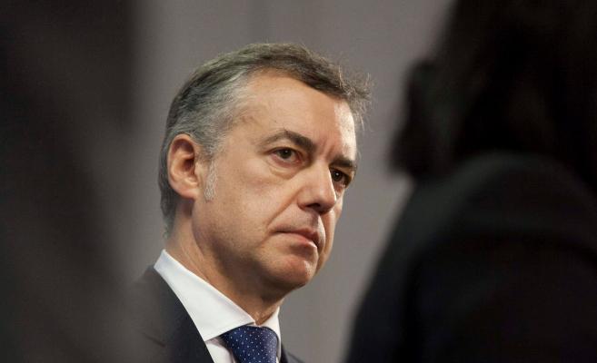 El lehendakari, Iñigo Urkullu, en una comparecencia.