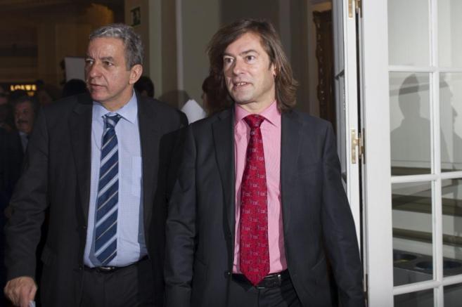 El juez Pedraz (dcha), en una imagen reciente.