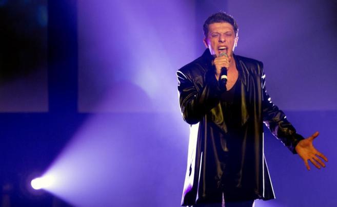 Aram Mp3, durante una actuación en Ámsterdam el 5 de abril.
