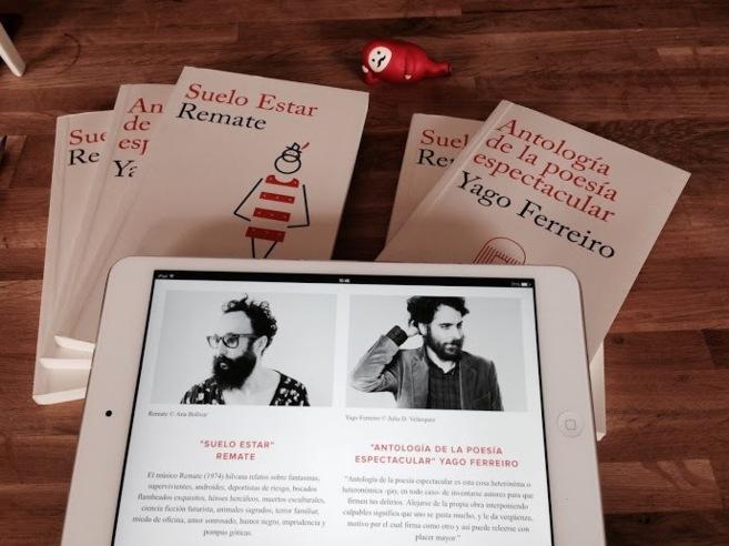 'Suelo estar' de Remate y 'Antología de la poesía...