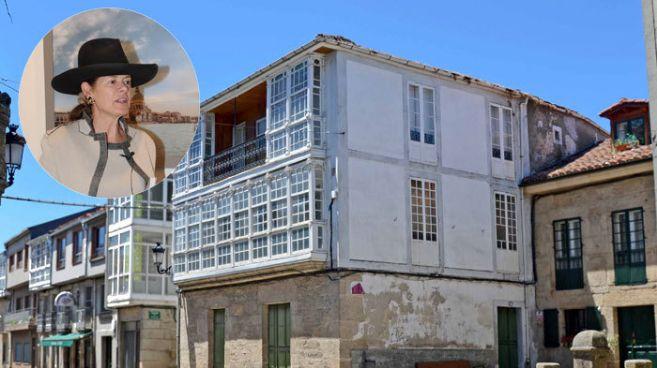 La casa de los abuelos en Pobra de Trives (Orense)