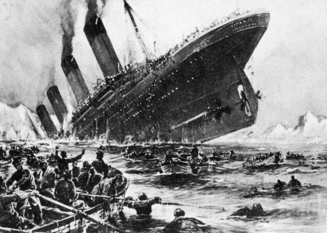 Un Oficial Del Titanic Minimizó El Desastre Para Concretar El Pago