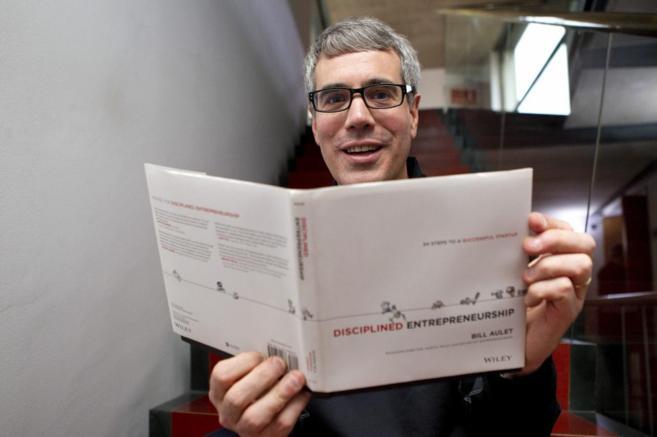 Presentación del libro de Bill Aulet, recientemente, en el Valencian...