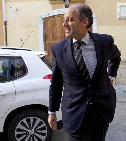 Camps a su llegada al Consell Juric el pasado 1 de febrero para...