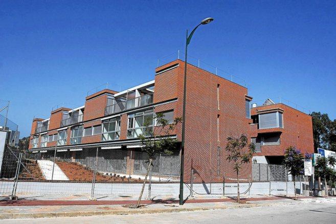 Edificios de vivienda protegida.