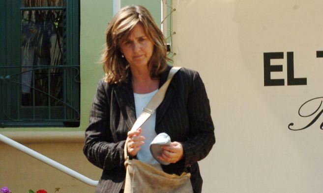 Ana Urdangarin Liebaert, hermana mayor del duque de Palma a la salida...