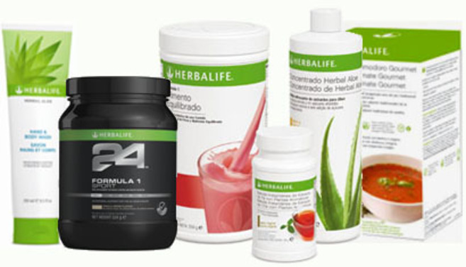 Productos Herbalife.