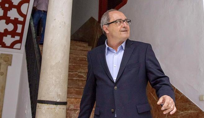 El secretario de Organización del PSOE de Andalucía, Juan Cornejo, a...