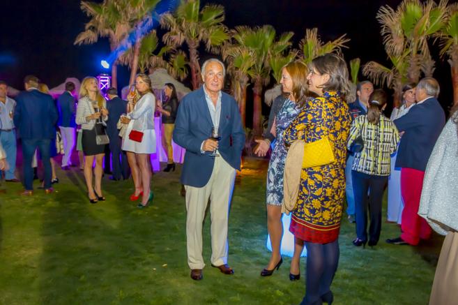 Ricardo Arranza en la inauguración de Villa Padierna Club de Mar.