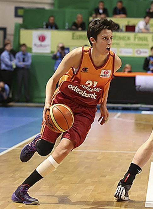 Alba Torrens, con el Galatasaray.