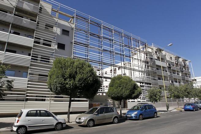 Edificio de viviendas adquirido por un fondo de inversión en Madrid.