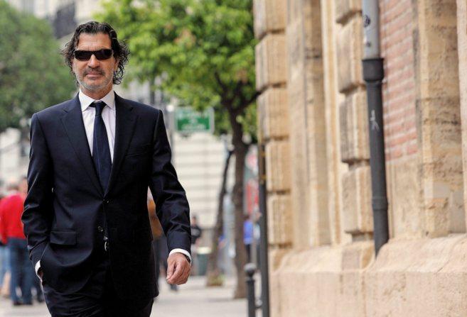 Rafael Betoret, a su llegada al TSJ de Valencia, por la investigación...