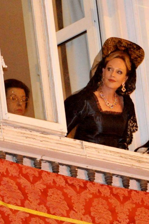 'Antonio, te quiero una jartá', decía Melanie desde el balcón...