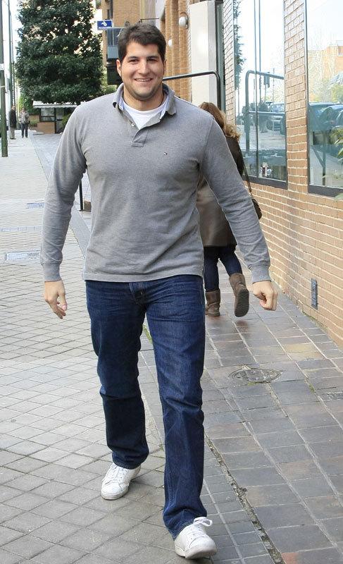 Julián Contreras Jr. (28). El hijo menor de Carmina Ordoñez no sacó...