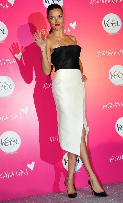 Adriana Lima (32). La modelo Adriana Lima no solo es un auténtico sex...