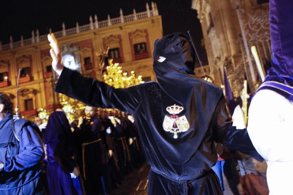 Acto de liberación del preso de la Cofradía Nuestro Padre Jesús El...