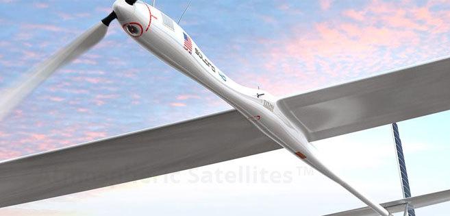 Uno de los modelos fabricados por la empresa Titan Aerospace.