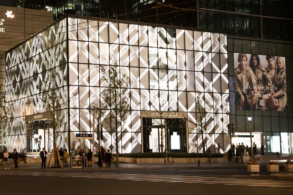 Exterior de la nueva 'flagship store' de Burberry (Foto:...