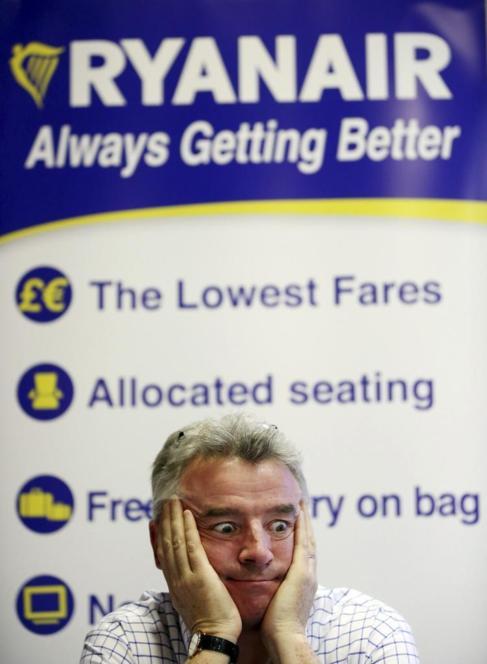 El propietario de la aerolínea irlandesa Michael O'Leary