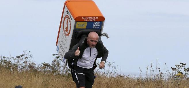 Tony Phoenix-Morrison en plena carrera.