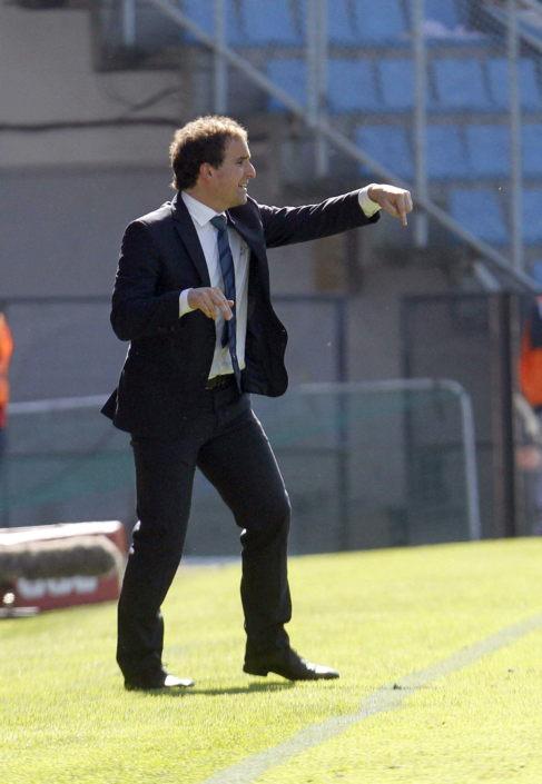 Jagoba Arrasate, entrenador de la Real Sociedad.
