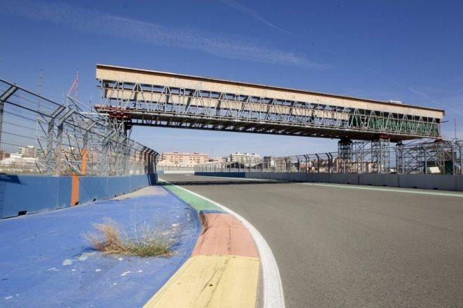 Estado en el que se enontraba el circuito urbano de F1 dieciséis...
