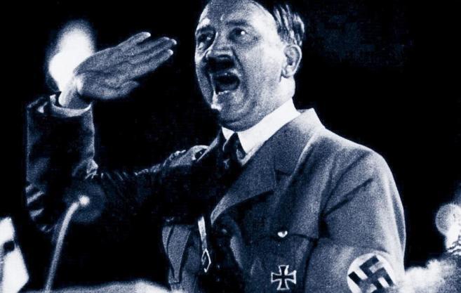 Adolf Hitler, durante un discurso en 1939.