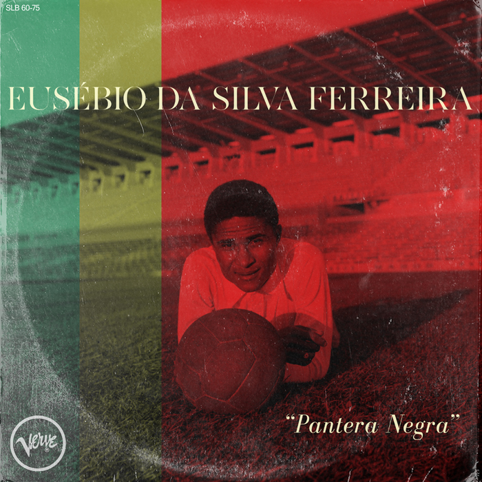 Más conocido como Eusébio o 'Pantera Negra', fue un futbolista portugués, uno de los mejores delanteros del país. Icono del fútbol en Portugal, falleció en enero de este año.  Casualmente -o no- la discográfica Verve  producía, en los años 60, a artistas de 'bossa nova' como Antonio Carlos Jobim o Joao Gilberto.