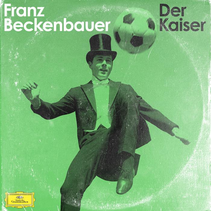 """Ex futbolista y ex entrenador, el alemán Franz Beckenbauer . """"En muchas ocasiones he utilizado fotos de cuando estos jugadores eran muy jóvenes. Esas imágenes tienen más fuerza. Con la foto de Beckenbauer no me pude resistir, ¡es tan rídicula!""""."""